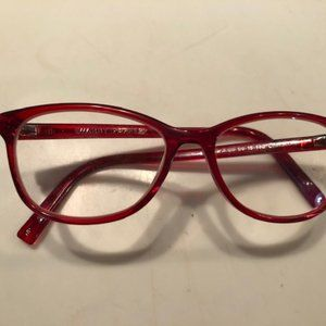 Warby Parker Red Daisy N 623 50-15-140 Glasses